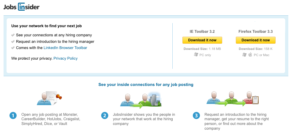 linkedin also has a great job seekers learning center that shares tips